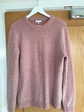 Mens Reiss Sweater Jumper Large Pink Motion