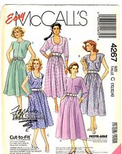 McCall's Fashion Basics Sewing Pattern Women's DAY DRESS 4267 Sz 10-12-14 UNCUT