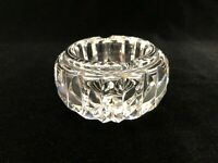 "Waterford Crystal Ashtray, 2 1`/8"" High, 3 1/2"" Widest"