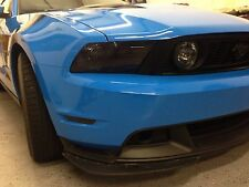 10-14 FORD MUSTANG LAMIN-X HEADLIGHT/SIDE MARKERS PRECUT TINT  SMOKED OVERLAYS