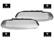 2 VITRE PHARE AVANT CLIGNOTANT BLANC BMW SERIE 5 E39 PHASE 2 09/2000 A 06/2003