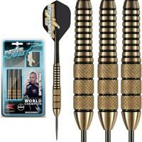 Phil Taylor Power Bolt Brass Barrel 22gram Steel Tip Dart From Target Darts