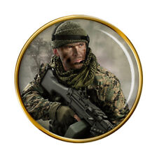 Special Forces Illustration Pin Badge