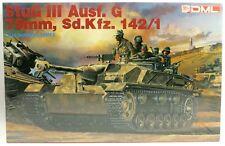 WWII StuG III Ausf G 75mm Sd Kfz 142/1 Tank 1:35 Imperial Dragon Model Kit