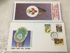 (JC) 7th National Scout Jamboree 1989 - FDC (A)