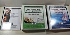 Financial Planning Education Lot CPA CPE Workbooks Textbooks Living Trusts