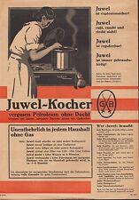 DRESDEN, Prospekt 1932, JUWEL Petroleum-Gaskocher Gustav Barthel