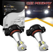 2pcs Bright 6000K White Cree XTE+8XBD LED PSX24W 2504 Fog Driving Light Bulbs