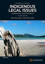 NEW Indigenous Legal Issues By Heather McRae Paperback Free Shipping
