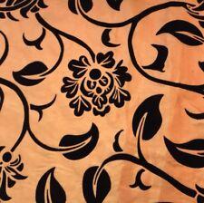 Flocked Taffeta (per metre) 'Pontmerci', dress fabric, womenswear