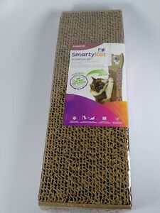 Corrugate Wall Hanging Cat Scratcher With Catnip Infused Technology