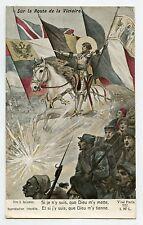 SOLOMKO . WW1. JEANNE D'ARC. Patriotique. Patriotic. Sur la route de la victoire