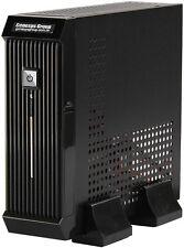 """(Short Mini-ITX) (60W PSU)DESKTOP CHASSIS (2.5"""" HDD) ITX-MINI-206 BLACK Case NEW"""