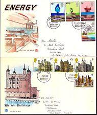 Juego Completo Ilustrado 1978 conmemorativa primer día cubre Bognor Regis PM.
