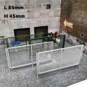 Diorama Fences 1/64 DIY Car Model Accessories Diorama Scenery Tools 2PCS/Pack
