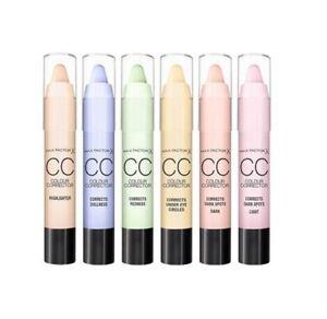 Max Factor CC Colour Corrector Sticks --Choose shade---