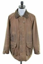 FILSON Mens Waxed Cotton Cruiser Jacket Size 44 2XL Brown Cotton  JG20