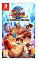 *NEW* STREET FIGHTER 30th ANNIVERSARY COLLECTION (NINTENDO SWITCH) SEALED CAPCOM