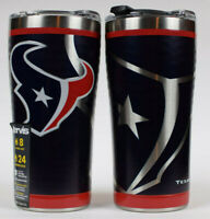 Houston Texans Stainless Steel Tervis Tumblers (2) Shelf Pull / New With Defect