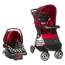 Disney Amble Quad Infant Toddler Safe Travel System, Mickey Mouse (Open Box)