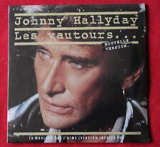Johnny Hallyday, les vautours / la musique que j'aime / testament .., CD single
