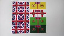 54mm FLAGS BRITISH 5th INFANTRY BRIGADE WATERLOO CAMPAIGN