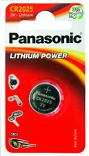 "NEW PANASONIC CR2025 3V COIN LITHIUM BATTS SINGLE CARDED BATTERY ""PANACR2025"""