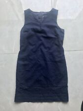 Linen Shift Dress - Size 14 - Immaculate Condition