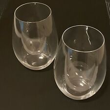 RIEDEL 20 oz. Stemless Wine Glasses (set of 2)