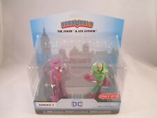 Funko Heroworld New Target Exclusive ~ DC Superheroes ~ The Joker & Lex Luther