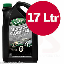 17 Litres Evans Waterless Engine Coolant Vintage Cool 180° Race Rally Off Road
