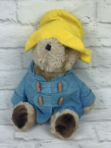 "Vintage Paddington Bear Eden Toy Plush 14"" 1975-1981 Stuffed Teddy"