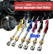 Silver Adjustable Short Shifter For Honda Acura vehicles with B/D Series Engine