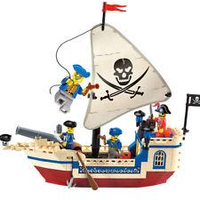 304 Ship Pirate Building Toy 188pcs Blocks Bricks Children Kid Boys Gift Set