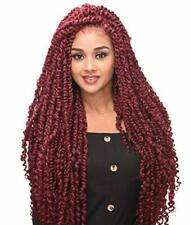 "Destiny - LACE WIG - PASSION TWIST BRAID 30"" (4?x 4"" Lace Wig) with Baby Hair"
