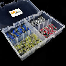 100 ASSORTED PIECE BOX OF SOLDER WIRE SLEEVES - WHITE RED BLUE & YELLOW KIT