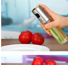 Öl- und Essigsprüher Zerstäuber Essig Öl Sprüher Sprayer aus Edelstahl & Glas