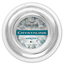 "OEHMS ""CRYSTALINE PURE POLY"" Poly Tennissaite, Tennis String, 1,18mm / 200m"