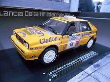 LANCIA Delta HF Integrale Rallye RAC GB Eklund Clarion #14 1990 Ca Sunstar 1:18