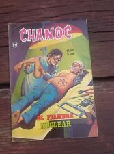 1975 MEXICAN COMIC CHANOC #821 EL FIAMBRE NUCLEAR-SIX MILLION DOLLAR MAN PARODY