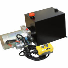 Nortrac Dump Trailer Power Unit With12v Dc Motor For Single Acting Cylinder