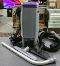 Pro Team Super Coach Pro 10 Backpack Vacuum Hepa Level Filtration *READ*
