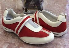 Cole Haan Air Women's Red Suede Leather Fashion Driving Shoes Sz 7.5B D23634 EUC