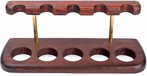 Dr. Watson - Wooden Tobacco Pipe Stand - ARCH V - For 5 Tobacco Smoking Pipes
