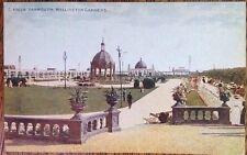 Great Yarmouth Wellington Pier Gardens Vintage Postcard Edwardian Celesque 45028