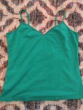 Cami-strap Tank Top - Old Navy Womens Kelly Green Stretch Cotton Shirt - V-neck