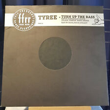 "Tyree (Cooper) ‎– Turn Up The Bass - 12"" single - FFRX 24  Awsome Super Dooper!"