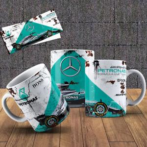 Lewis Hamilton Formula One Car  F1 Mug - Perfect Xmas Gift