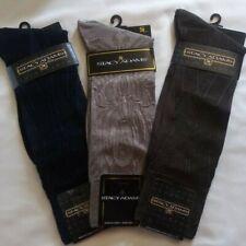 3 Pairs of Genuine Stacy Adams Men/'s Burgundy Dress Socks Size 13-18 Comfortable