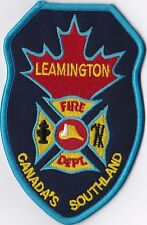 Leamington Fire Dept. Ontario Canada patch NEW